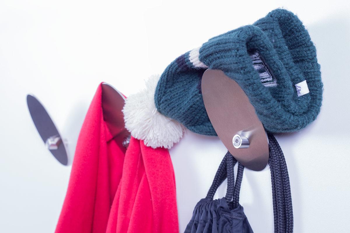 Kleiderhaken Design Edelstahl Garderobenhaken Garderobe Shop Kaufen